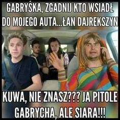 One Direction Interviews, One Direction Quotes, One Direction Imagines, 1d Imagines, One Direction Videos, Polish Memes, 5sos Memes, Funny Mems, Band Memes