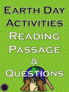 Earth Day Lesson! - Fun and Creative!