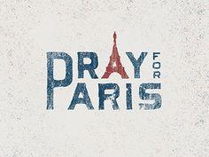 Pray For Paris by Nicolas Fredrickson