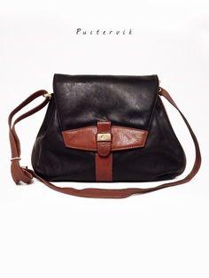 Mein True Vintage Echt Leder Tasche Braun Schwarz Blogger Basic Umhängetasche Leather Bag von true vintage! Größe Uni für 47,00 €. Sieh´s dir an: http://www.kleiderkreisel.de/damenmode/blusen/141433769-true-vintage-echt-leder-tasche-braun-schwarz-blogger-basic-umhangetasche-leather-bag.