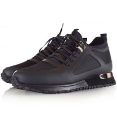 Mallet Black BTLR Diver Runners Dress With Sneakers, Dress Shoes, Runners