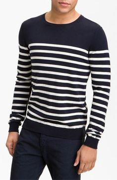 rag & bone 'Basque' Crewneck Sweater available at #Nordstrom