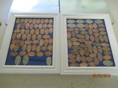 pressed pennies display
