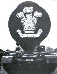 Chieftain tank in Berlin