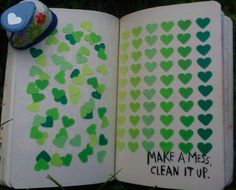 "Wreck this Journal by Keri Smith | ""Make a mess. Clean it up."" 