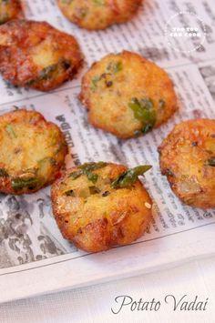 Potato Vada   Urulaikizhangu Vadai   Vada Without Lentils