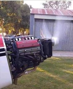 Engine Swap, Engineering, Outdoor Decor, Home, Engine, Ad Home, Homes, Technology, Haus