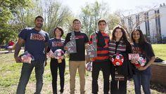 RedesESPN visiting CSUF 3.8.16 #CSUF #TitanShops #redesespn #TusksUp #TitansMSoccer