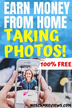 SAVE THIS! Would you like to earn money from home just for taking photos with smartphone? You can use it to earn extra money online working from home or in your free time. Absolutely FREE to join! Earn Extra Money Online, Ways To Earn Money, Earn Money From Home, Make Easy Money, Quick Money, Free Money, Money Fast, Win Money, Free Cash