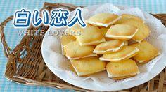 Create Eat Happy :): How to Make 5 Ingredients Shiroi Koibito (Chocolat Blanc et Langue de Chat) - Video Recipe