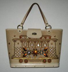 Vintage Enid Collins jeweled handbag Collins by sweetalicelovesyou, $58.00