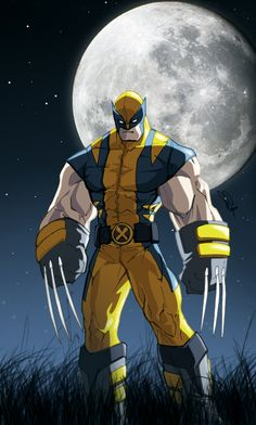 I like this version of Wolverine; he was a gentically enhanced mutant, I feel like he would be this muscular. Most representations don't do him justice like this one does.