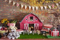 Old McDonald Farm themed birthday party via Kara's Party Ideas KarasPartyIdeas.com Cake, decor, favors, printables, supplies, etc. #farmparty #oldmcdonald #barnyardparty (8)