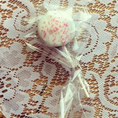 Sweet Cake Pops, Perfect for baby showers :)