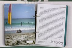 one photo per week with a page of journaling. simple.