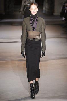 Flawless shapes at #HaiderAckermann.  #Paris #FashionWeek