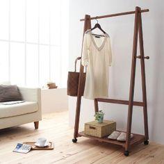 木製コートハンガーシリーズ【DALE】デール:木製コートハンガーのイメージ