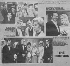 1963 soap opera The Doctors - Google Search