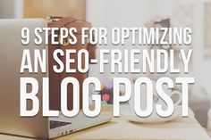 Great content needs an audience. Help more readers find your blog posts online by optimizing content for SEO with these 9 steps from Kite Media: