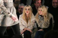 olsen twins. front row.