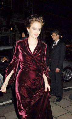 Eva green,stunning dress