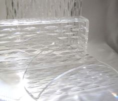 Vintage 1960s Wilardy Clear Lucite Raindrop by SharetheLoveVintage, $75.00