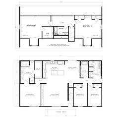 The Wellfleet - Excel Homes Modular Home Plans, Modular Homes, Upstairs Bedroom, Living Room Bedroom, Home Id, Building Code, Interior Photo, House Plans, Floor Plans