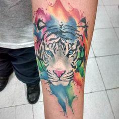 Super Tattoo Old School Tiger Posts 22 Ideas Red Tattoos, Feather Tattoos, Nature Tattoos, Foot Tattoos, Tatoos, Tiger Tattoo, Cat Tattoo, Truth Tattoo, Nature Symbols