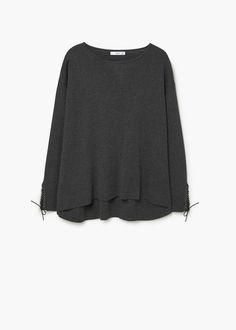 Camisola cordão entrelaçado | MANGO