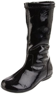 $18.67-$39.95 Baby Kenneth Cole Reaction Cast A Sway 2 Boot (Toddler/Little Kid),Black Patent,6 M US Toddler - She'll be pretty as can be in the Cast A Sway boots from Kenneth Cole Kids. These boots feature a shiny faux leather upper with a full side zip closure and smooth round toe. The durable traction outsole is excellent on traction and support. http://www.amazon.com/dp/B004NBZGP6/?tag=pin2baby-20