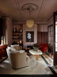 Color of Walls and Pattern of Walls Australian Interior Design, Interior Design Awards, Best Interior Design, Interior Design Inspiration, Furniture Inspiration, Flack Studio, 21st Century Homes, Melbourne House, Living Room Trends