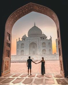 Taj Mahal, India #travelphotography #travel #travelling