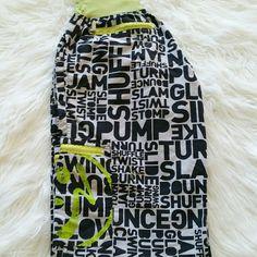 SALE ZUMBA Pants Cute ZUMBA Pants Body 100% Nylon Waistband 90% Nylon 10% Spandex Zumba Pants