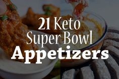 The 21 best keto appetizers for any occasion! Bring them to your next family get together or a rowdy Superbowl party with friends. The list features a variety of keto options