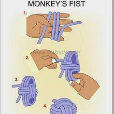 Nudo puño o Monkey Knot