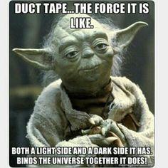 Duckt Tape! #starwars