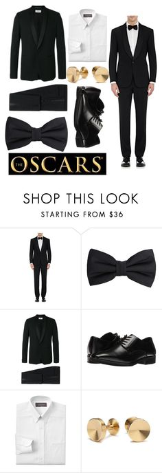 """Best Actor"" by oliviagrace14 ❤ liked on Polyvore featuring Ralph Lauren Purple Label, MANGO MAN, Yves Saint Laurent, Stacy Adams, Croft & Barrow, Alice Made This, men's fashion and menswear"