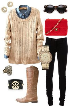 """Pop of Color"" by addiwood on Polyvore"