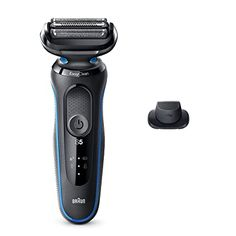 Amazon.com: Braun Electric Razor for Men, Series 5 5018s Electric Foil Shaver with Precision Beard Trimmer, Rechargeable, Wet & Dry with EasyClean: Beauty Best Electric Shaver, Electric Razor, Shaver Shop, Tourmaline Flat Iron, Foil Shaver, Hair Dryer Brush, Amazon Beauty Products, Wet Shaving, Beard Trimming