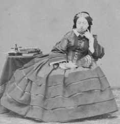 1860 Queen Victoria by Mayall EB