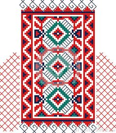 Authentic Bulgarian Ornament 07 Stock Vector - Illustration of ornament, solar: 43894321 Folk Costume, Bulgarian, Solar, Carpet, Traditional, Ornaments, Rugs, Illustration, Stitching
