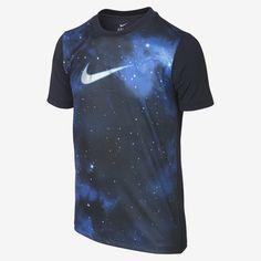 Nike Store UK. Nike CR Graphic Boys' (8y-15y) Football Shirt Black, Style - Color # 584056-472