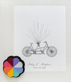all you need is paper and ink. (:  free wedding printable
