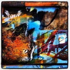 C215 - Brick Lane, London (19 June 2013) #c215 #streetart #london Brick Lane, Street Art, Moose Art, June, London, Painting, Animals, Instagram, Brick Road