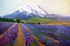 Mt. Shasta Homes | The lavender perfumes the air around you as you paint.