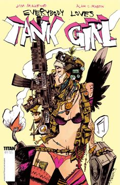 Everybody Loves Tank Girl Geekdom, Geek out, Fun, Funstuff, Nerd, Nerdy Fragyl Mari Lady Gamer Nerd Nut