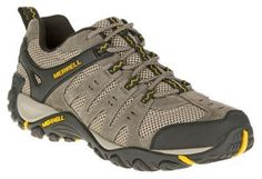 Merrell Accentor Hiking Shoes for Men - Bolder/Old Gold - 10.5M