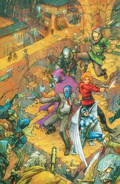 84 Best Kenneth Rocafort images in 2015 | Comics, Comic