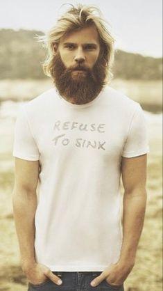 Hot Beards, Great Beards, Awesome Beards, Beard And Mustache Styles, Beard No Mustache, Hairy Men, Bearded Men, Retro Men, Body Poses