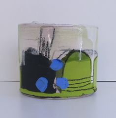 Ceramic vessels by Barry Stedman Earthenware Clay, Ceramic Clay, Ceramic Painting, Porcelain Ceramics, Ceramic Pottery, China Porcelain, Vases, Collage Drawing, Drawing Tips